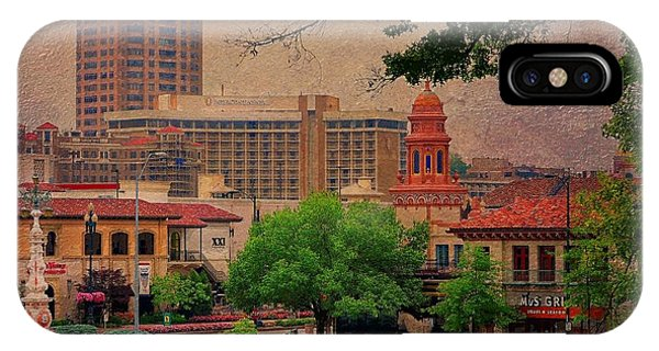 The Plaza - Kansas City Missouri IPhone Case