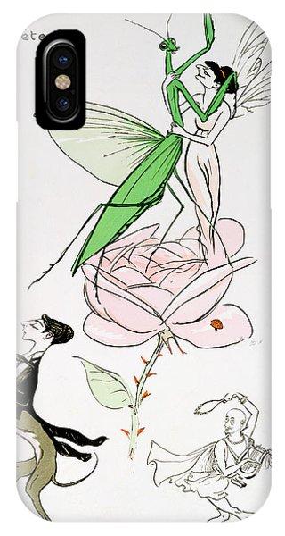 Grasshopper iPhone Case - The Poets Corner by Sem