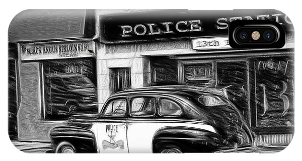 The Police Car IPhone Case