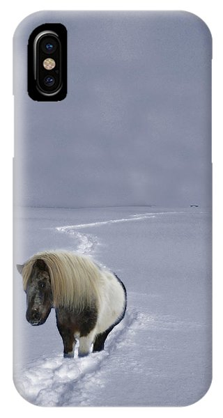 IPhone Case featuring the photograph The Ponys Trail by Wayne King