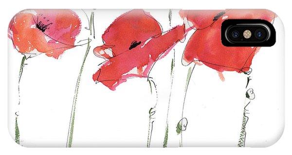 The Poppy Ladies IPhone Case