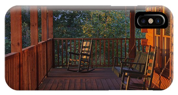The Porch Beckons Phone Case by Kay Pickens
