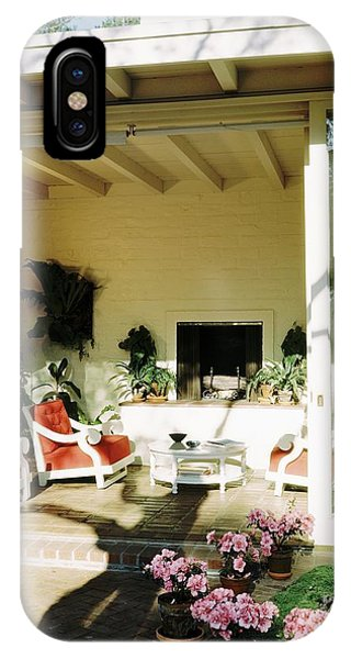 The Porch Of Mr. And Mrs. George L. Elkins IPhone Case