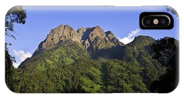 East Africa iPhone Case - The Portal Peaks In The Rwenzori, Uganda by Martin Zwick