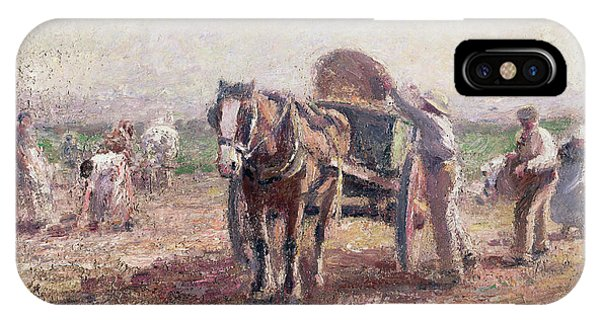 The Potato Pickers IPhone Case