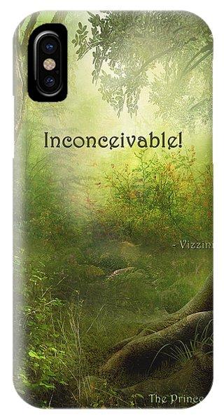 The Princess Bride - Inconceivable IPhone Case