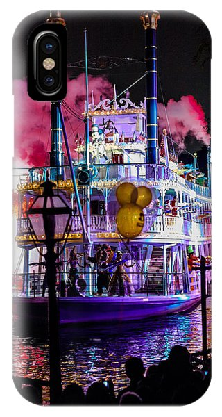 The Mark Twain Disneyland Steamboat  IPhone Case