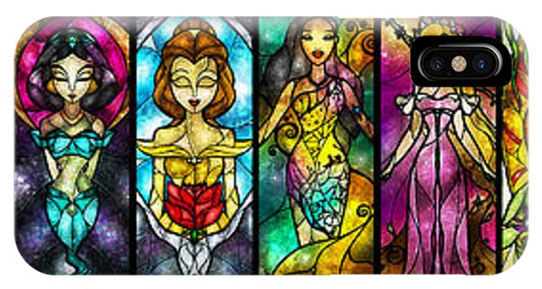 Knight iPhone X Case - The Princesses by Mandie Manzano
