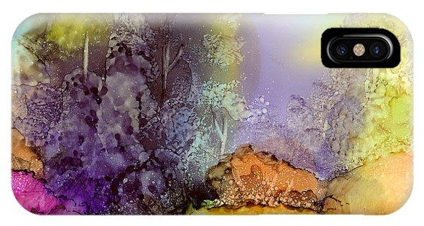 The Purple Tree IPhone Case