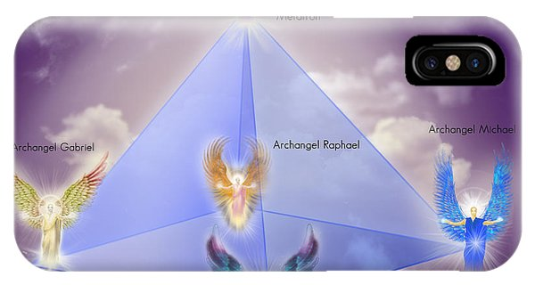 The Pyramid Of The Archangels IPhone Case