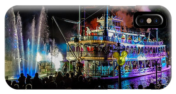 The Mark Twain Disneyland Steamboat  IPhone Case