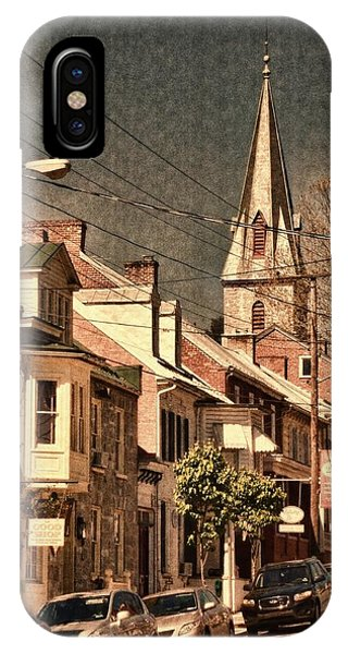 The Quintessential Semiquincentennial - Shepherdstown Wv  IPhone Case