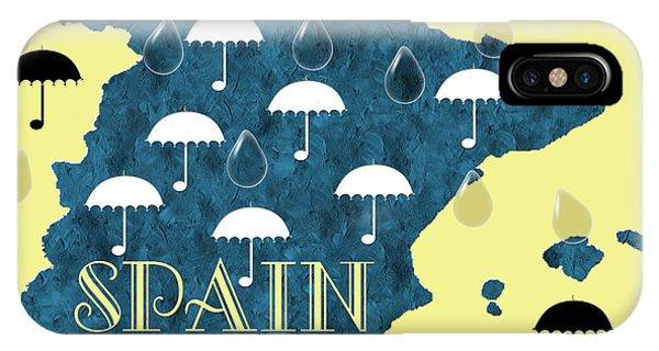 The Rain In Spain IPhone Case