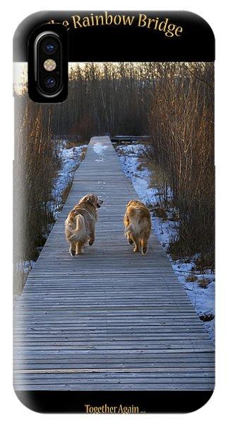 The Rainbow Bridge IPhone Case