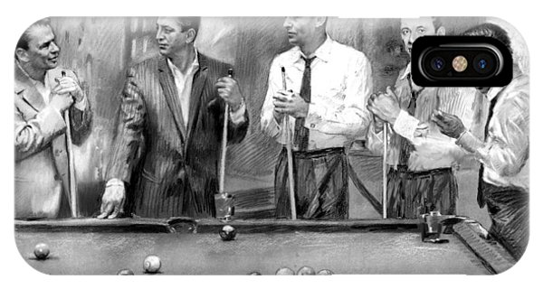 Rat Pack Iphone Cases Fine Art America