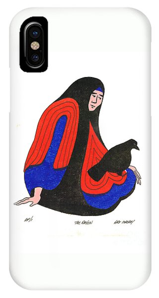 The Raven From Artist Proof 1 IPhone Case