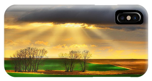The Ray Of Light IPhone Case
