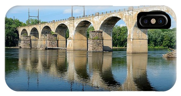 The Reading Csx Railroad Bridge At Ewing IPhone Case
