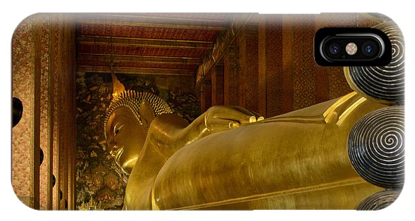 The Reclining Buddha IPhone Case