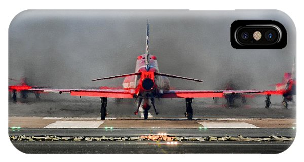 The Red Arrows Phone Case by James Lucas