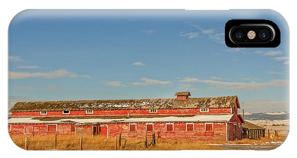 The Red Barn IPhone Case