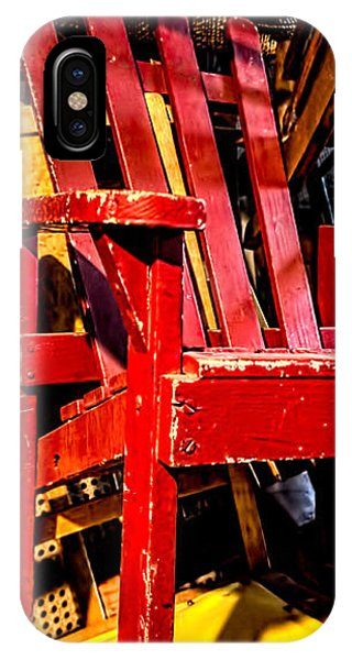 The Red Chair IPhone Case