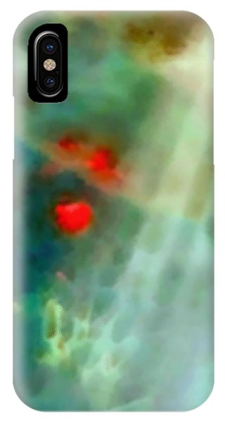 The Red Dancers IPhone Case