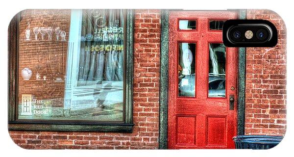 The Red Door - Great Barrington IPhone Case