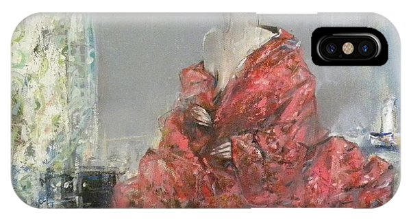 The Red Kimono IPhone Case