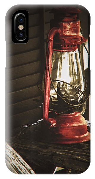 The Red Lantern IPhone Case