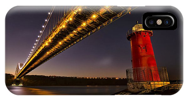 The Red Little Lighthouse IPhone Case
