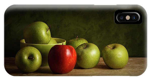 Still Life iPhone Case - The Red by Luiz Laercio