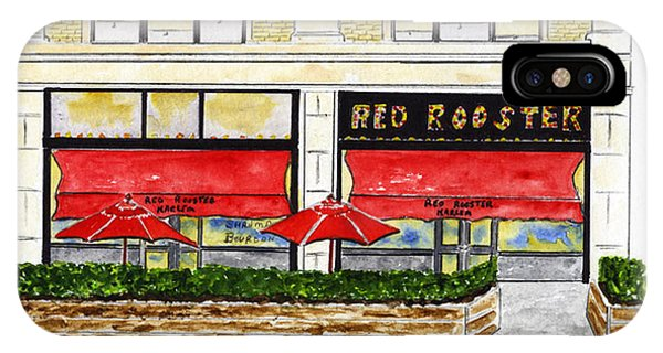 The Red Rooster IPhone Case