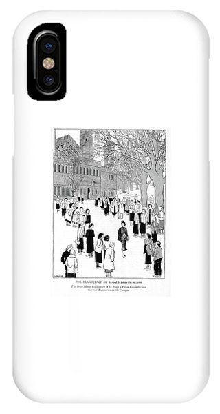 The Renascence Of Rugged Individualism  The Bryn IPhone Case