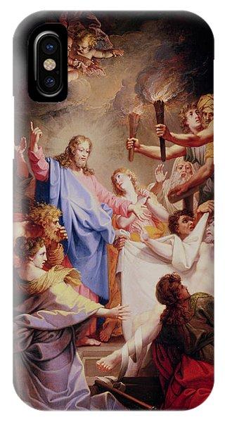 Awakening iPhone Case - The Resurrection Of Lazarus  by Jean-Baptiste Corneille