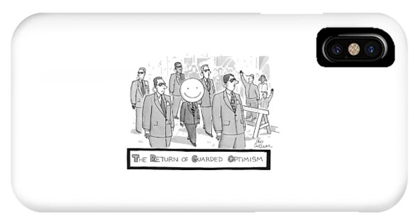 The Return Of Guarded Optimism IPhone Case