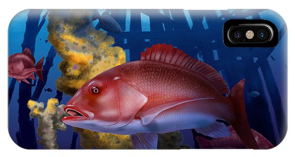 Reef iPhone Case - The Rigs by Kevin Putman