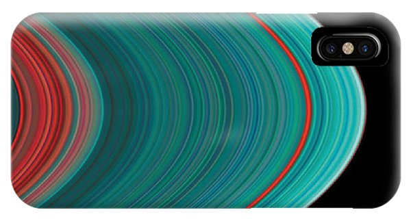 The Rings Of Saturn IPhone Case