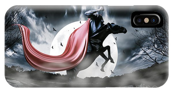 The Rise Of The Headless Horseman IPhone Case