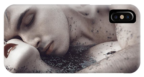 Men iPhone Case - The River Bank by Magdalena Russocka