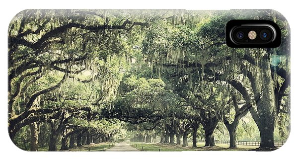 The Road From Boone Hall IPhone Case