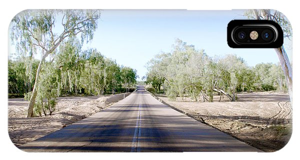 iPhone Case - The Road To Back Of Beyond by Holly Kempe