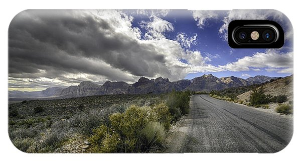 The Road To Red Rock IPhone Case