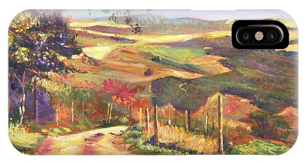 The Road To Tuscany IPhone Case