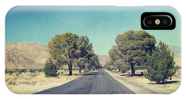 Desert iPhone Case - The Roads We Travel by Laurie Search