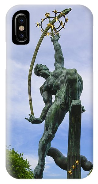 The Rocket Thrower IPhone Case