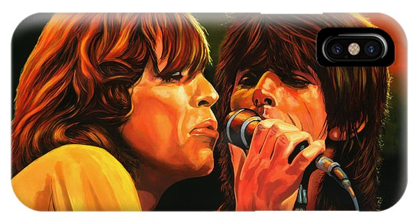 Musicians iPhone Case - The Rolling Stones by Paul Meijering