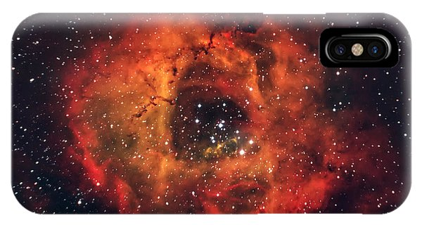 Fire iPhone Case - The Rose In The Sky by Andrea Auf Dem