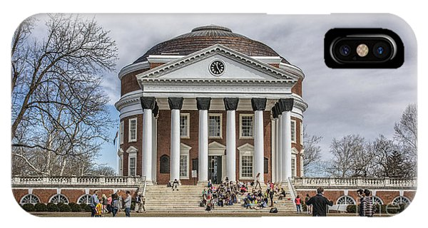 The University Of Virginia Rotunda IPhone Case