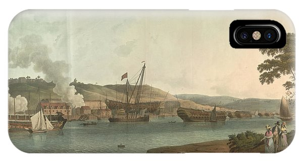 Chatham iPhone Case - The Royal Dockyard At Chatham by British Library